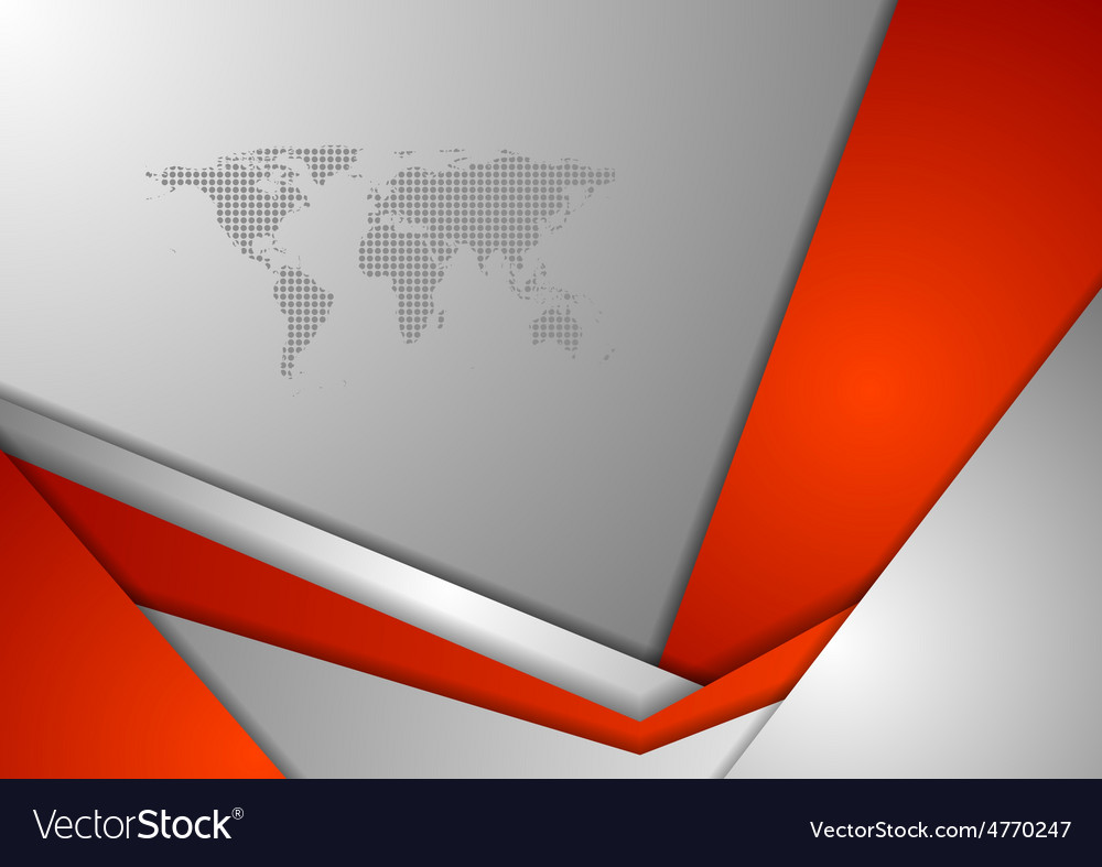 Red grey tech corporate background