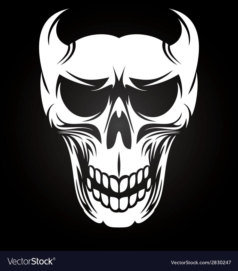 White Devil Skulls