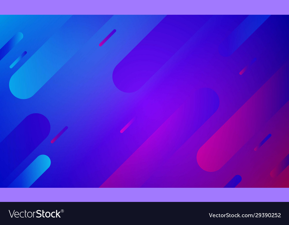 Abstract Purple Mixed Blue Background Trendy Vector Image