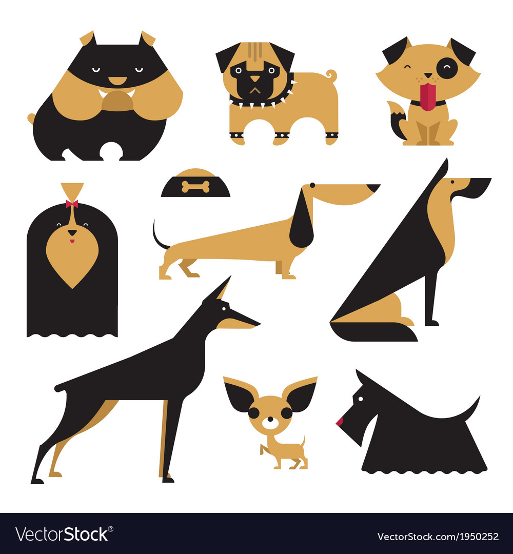dog royalty free vector image vectorstock rh vectorstock com dog victoria cross dog vector art