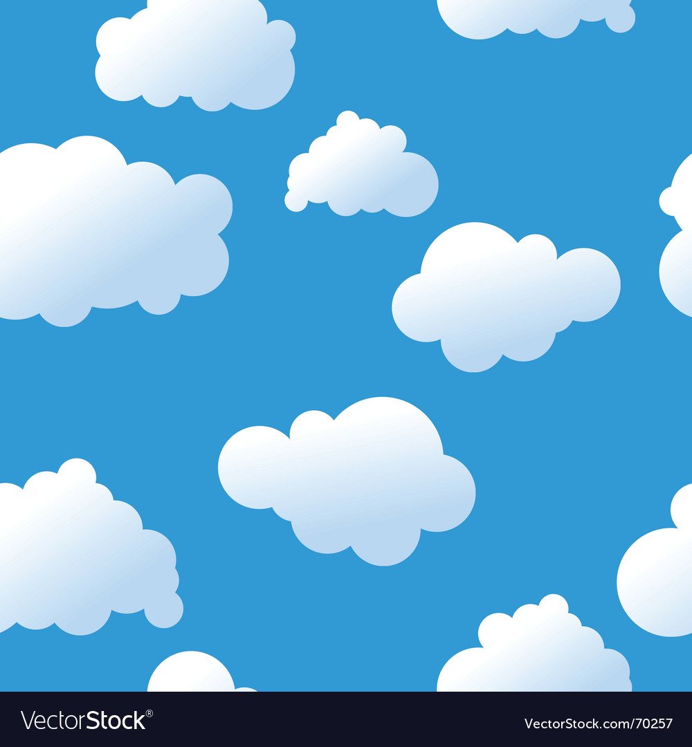 clouds background royalty free vector image vectorstock