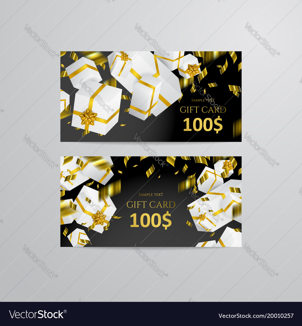 Gift 3d background festive box gift card