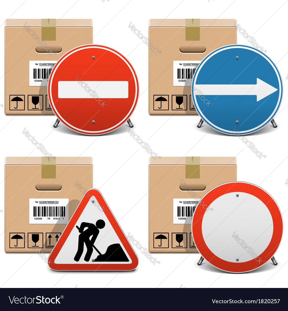 Shipment Icons Set 23