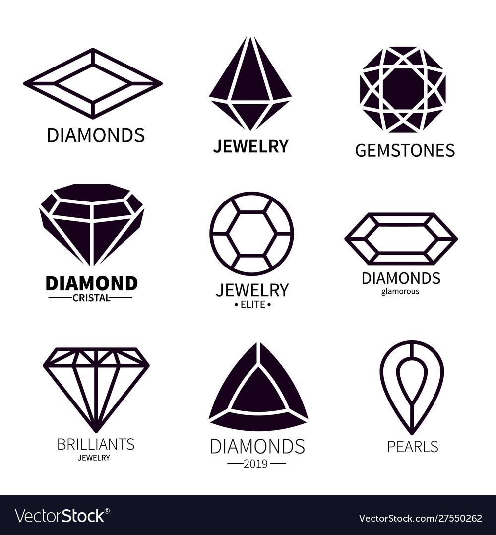 Diamond logos jewels diamonds gems jewelry