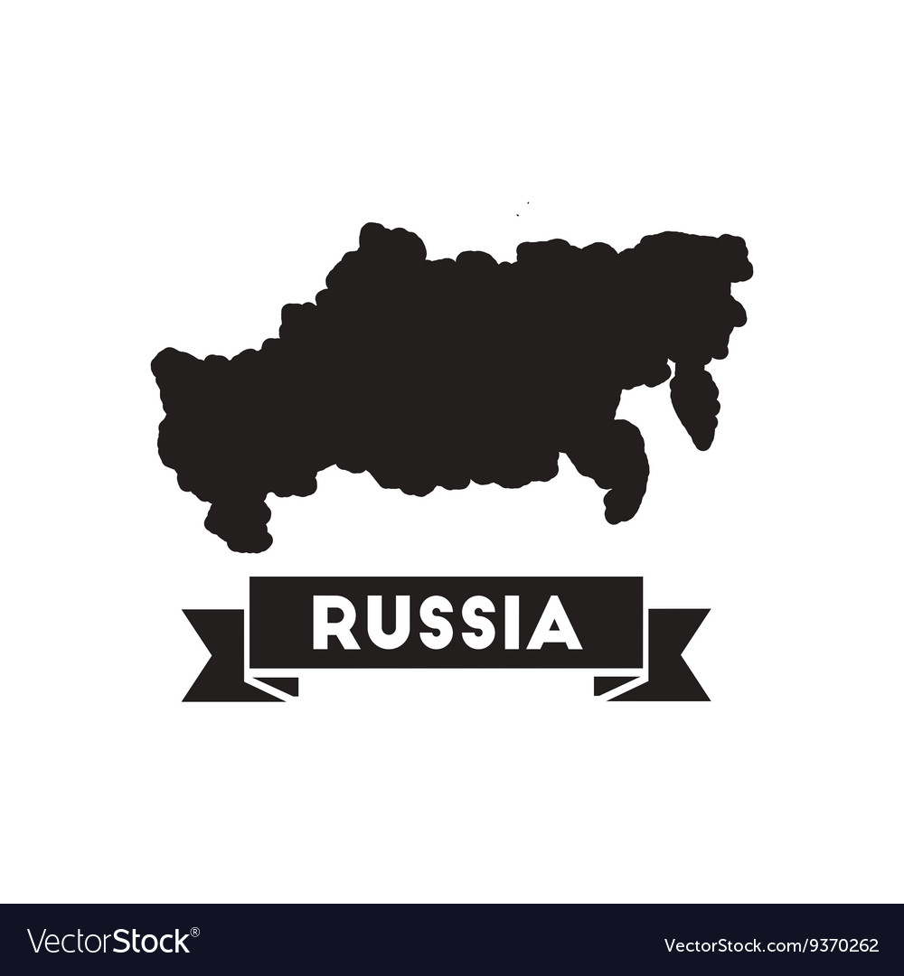 Flat icon in black and white map of Russia Flat Russia Map on flat united states map, flat eurasia map, flat great britain map, flat country map, flat europe map, flat us map, flat africa map, flat world maps,
