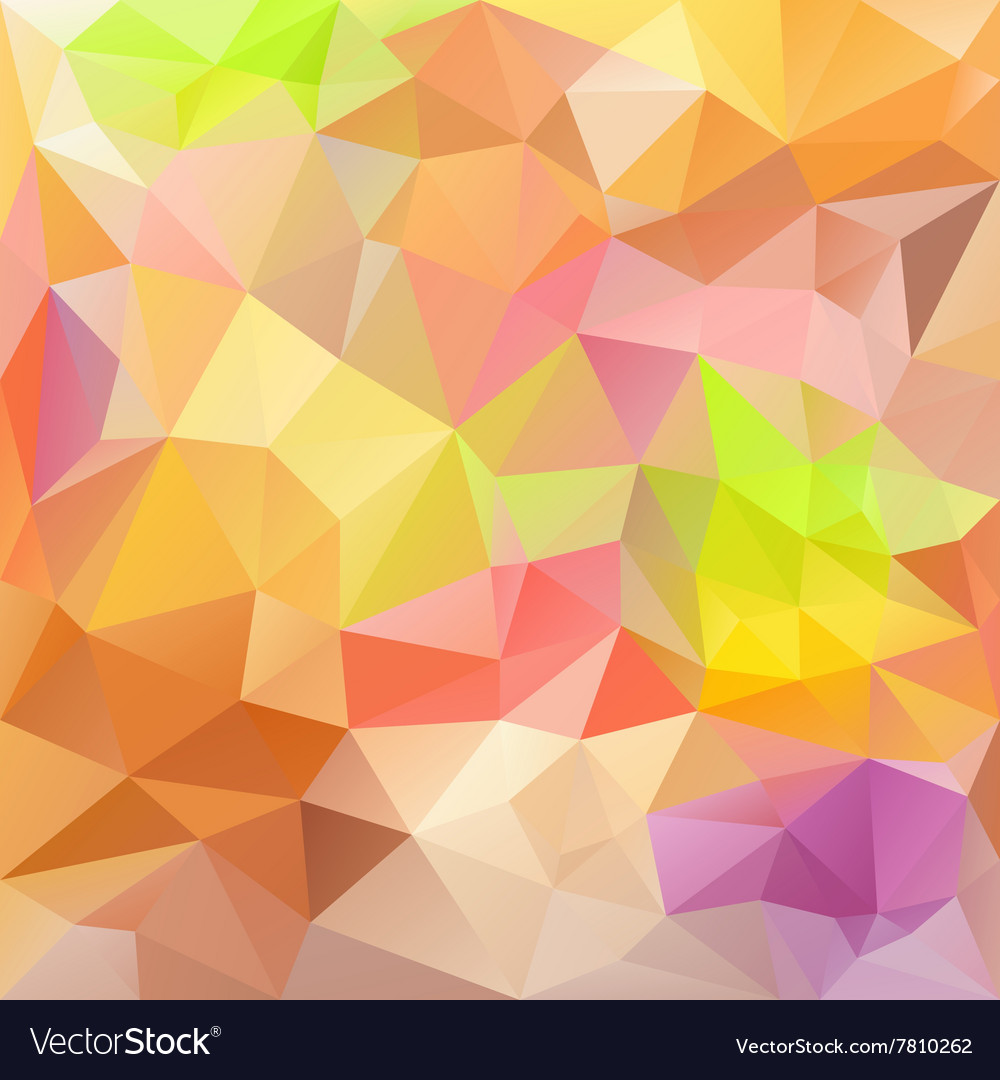 Pastel colors abstract polygon triangular pattern