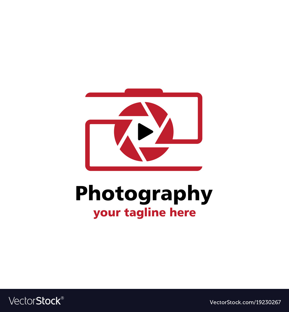 Camera videografi business logo