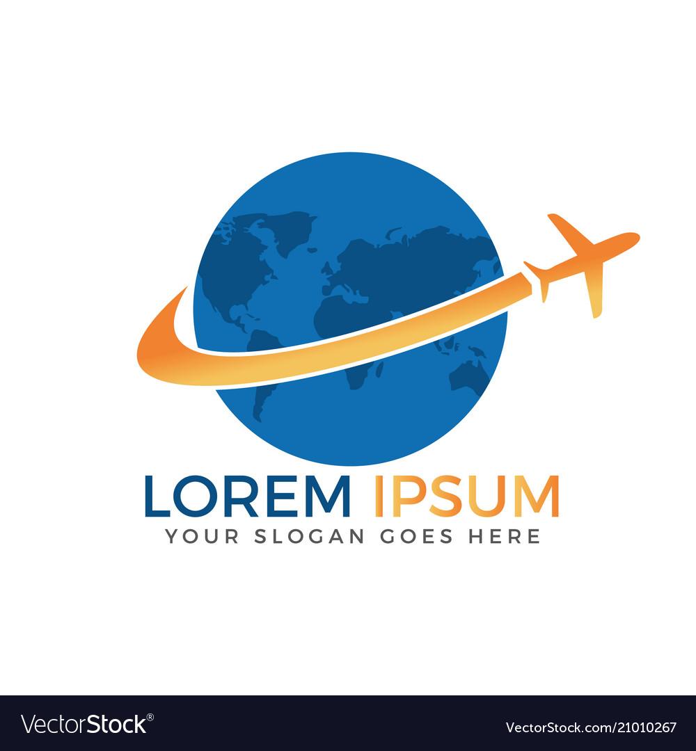 Travel and tourism logo design