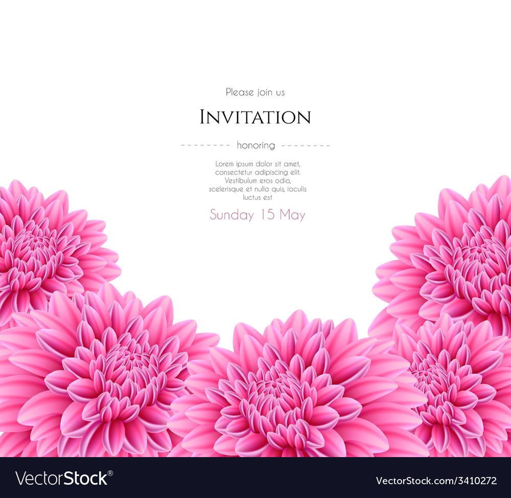 Blooming beautiful aster flower royalty free vector image blooming beautiful aster flower vector image mightylinksfo