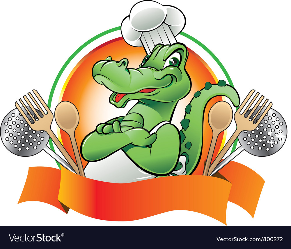 Chef ally vector image
