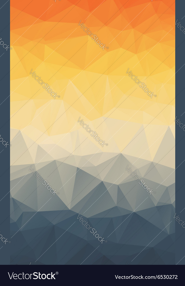 Vertical Polygonal Abstract Wallpaper