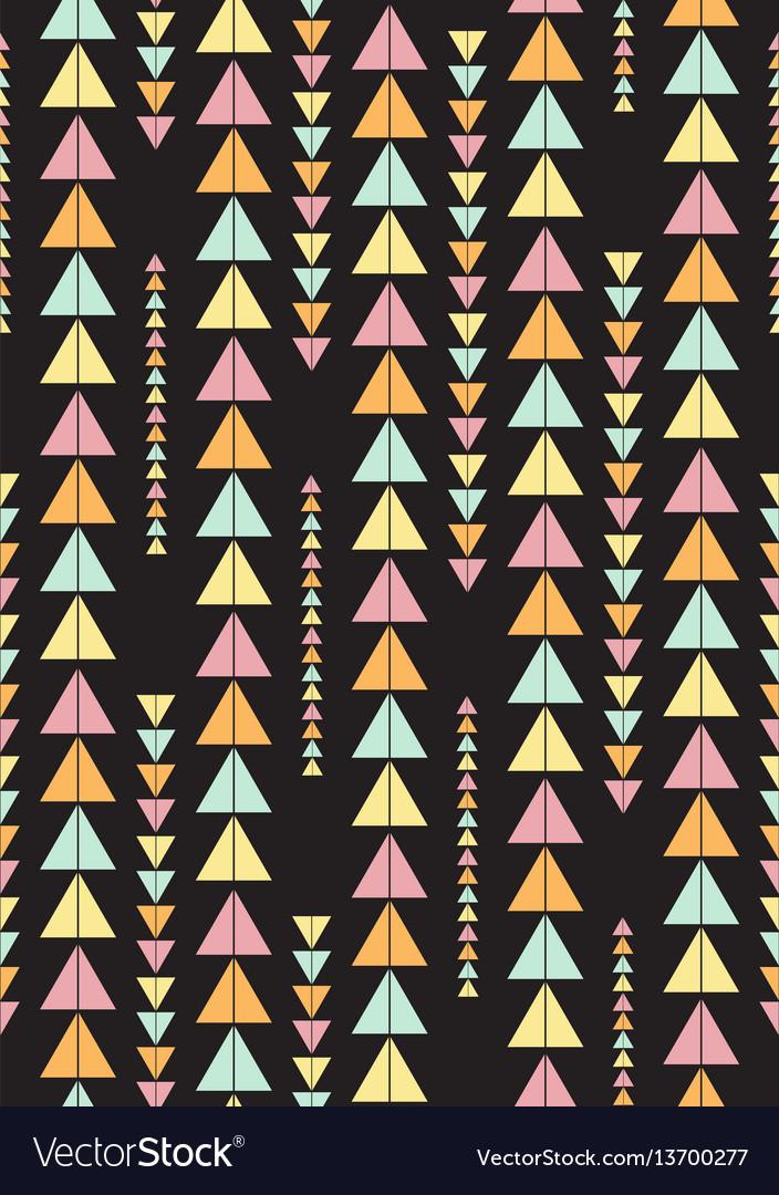 Seamless geometric pattern vintage