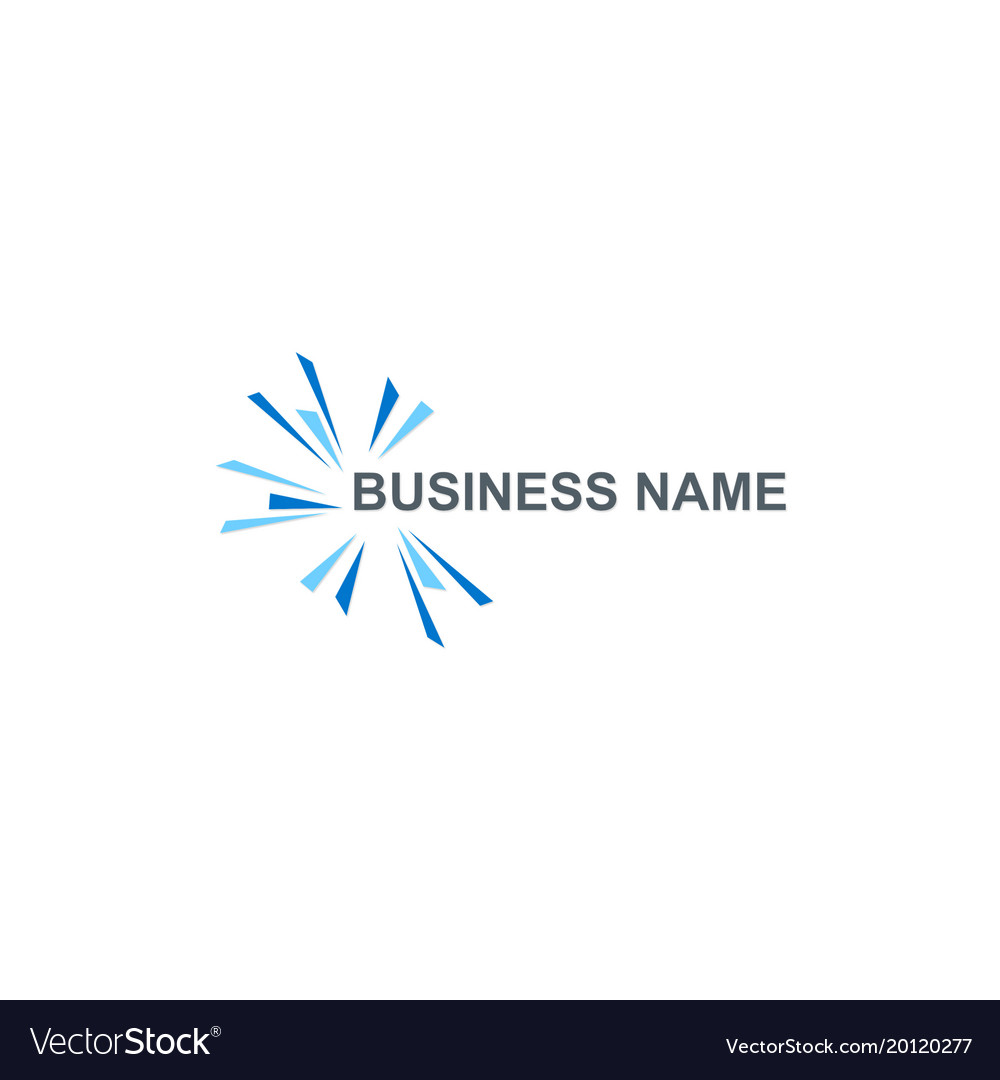 Spark abstract business logo