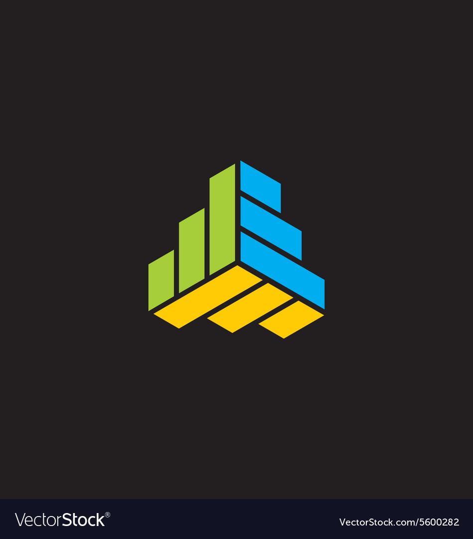 Shape geometry technology logo