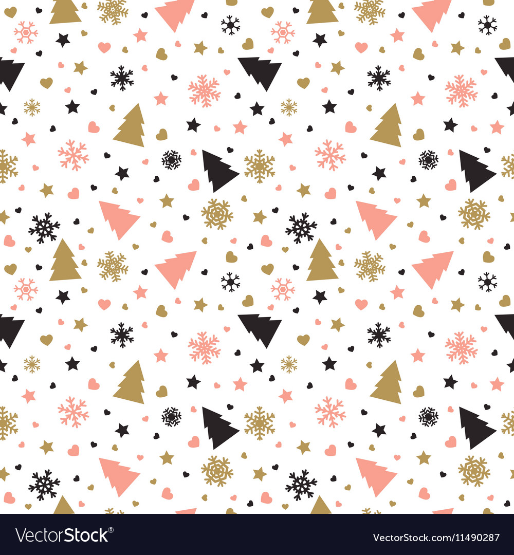 Christmas Backgrounds Cute.Cute Background With Christmas Tree Snowflakes
