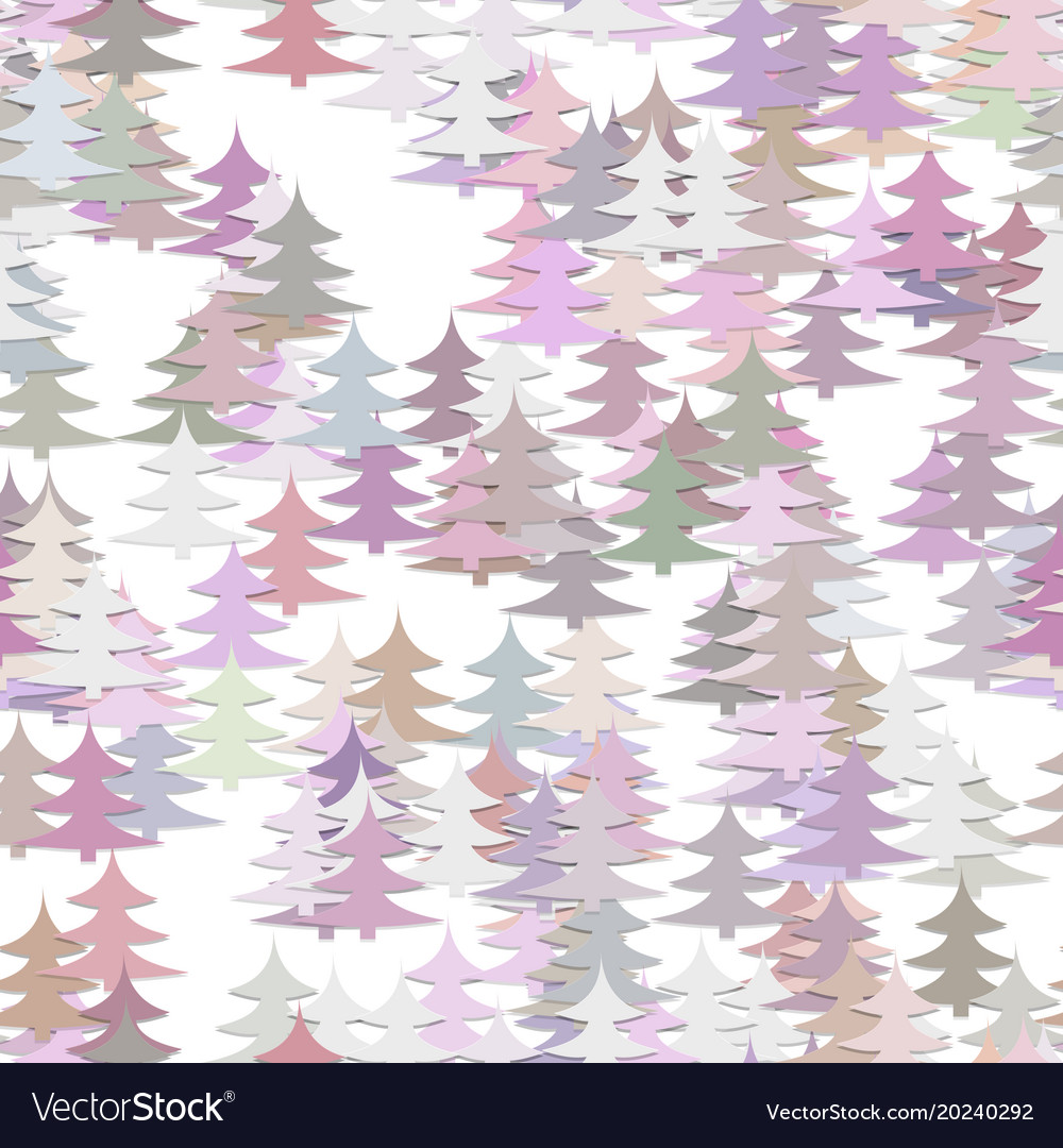 Abstract random pine tree pattern background