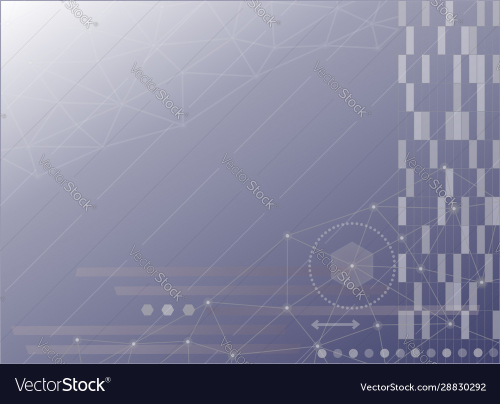 Abstract technology science web background