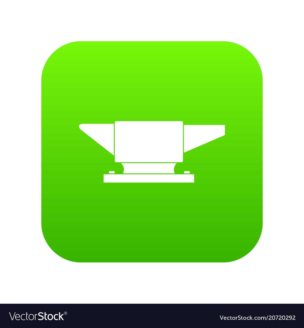 Anvil icon digital green