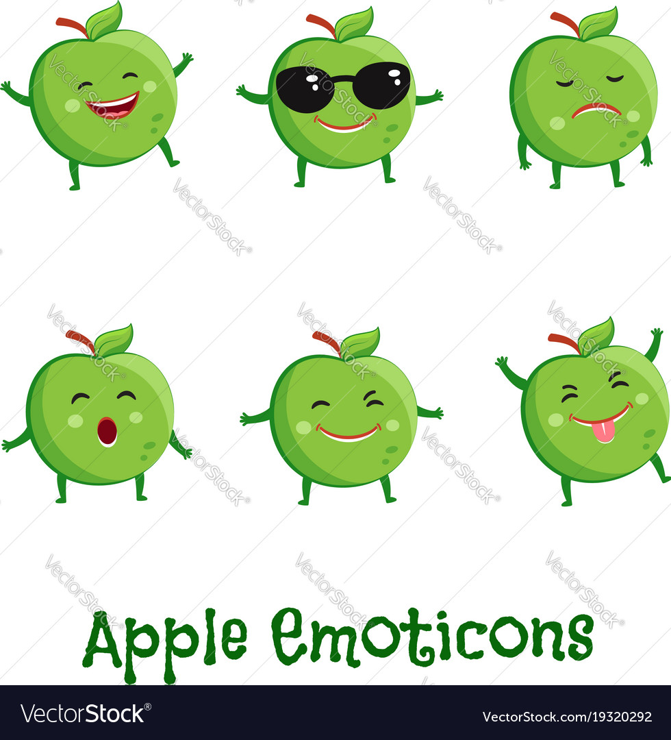 apple emoji vector free download