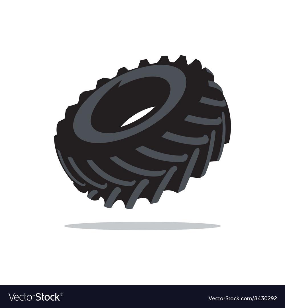 Tyre Cartoon vector image