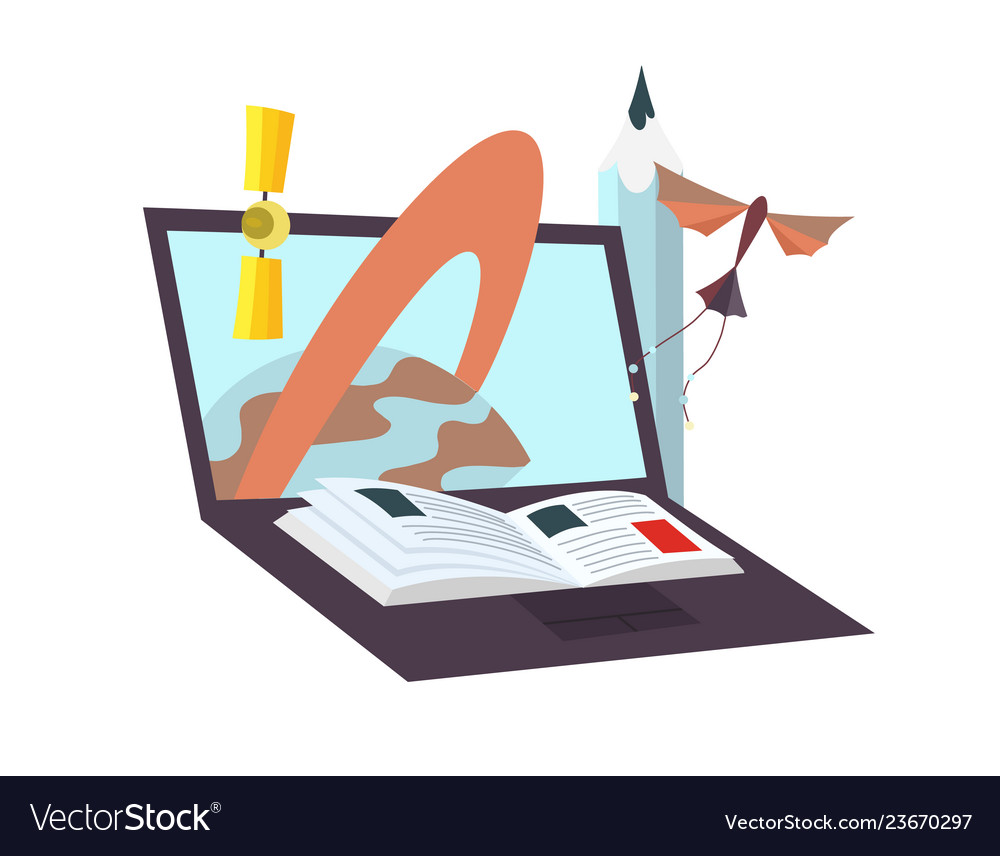 Process education laptop as an ebook