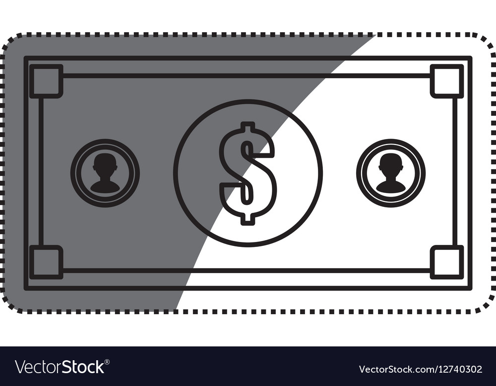 Billet money isolated