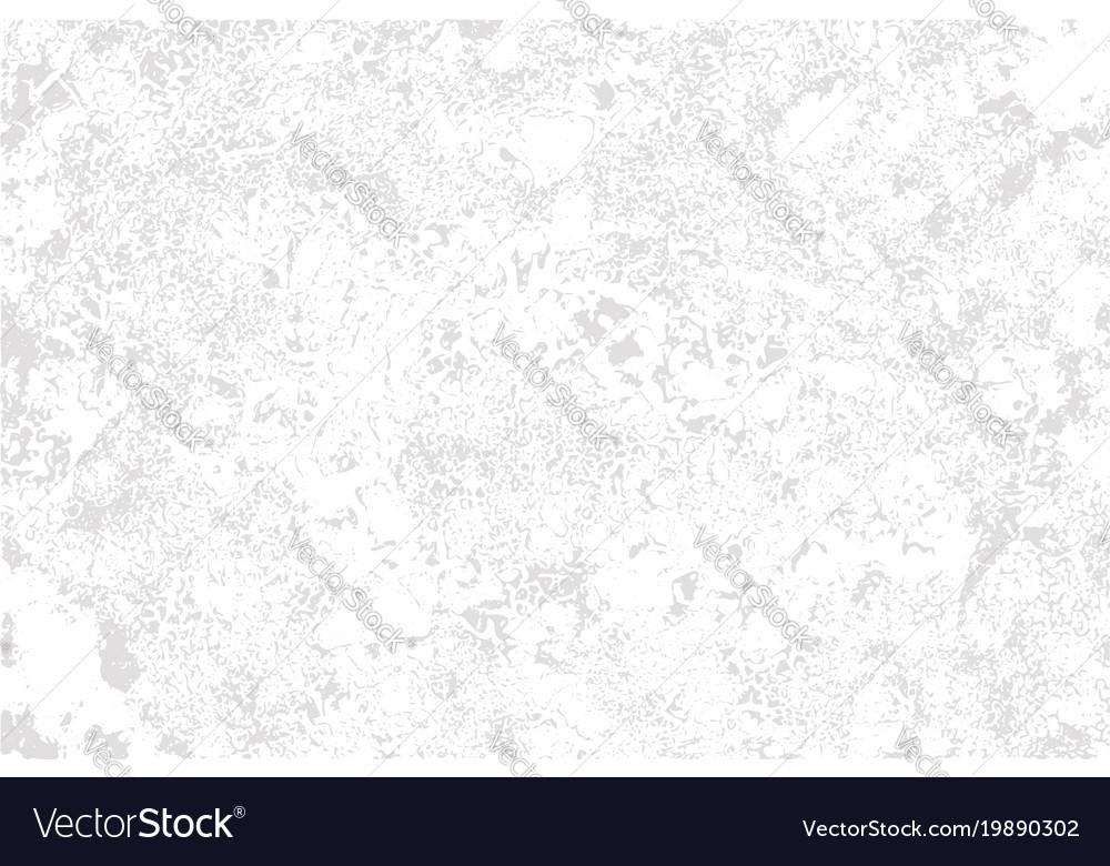White plaster on grey background