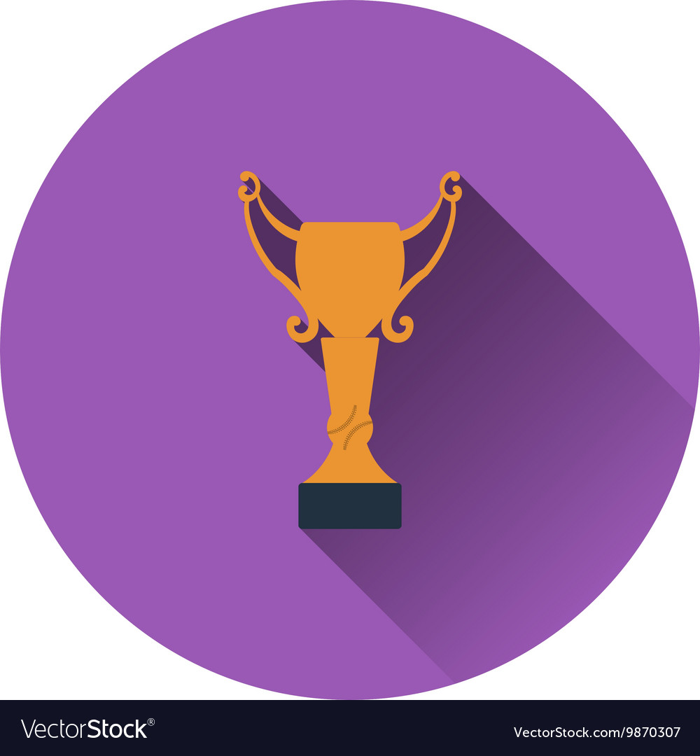 Baseball cup icon vector image