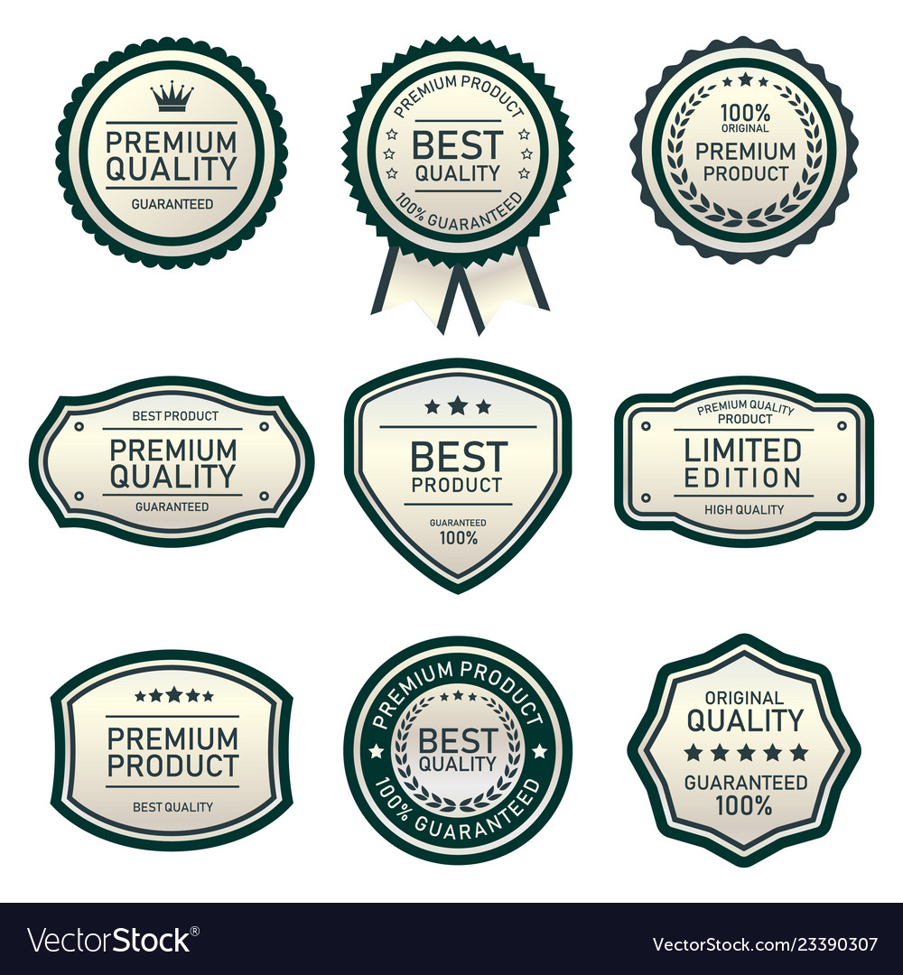 Design labels best quality product