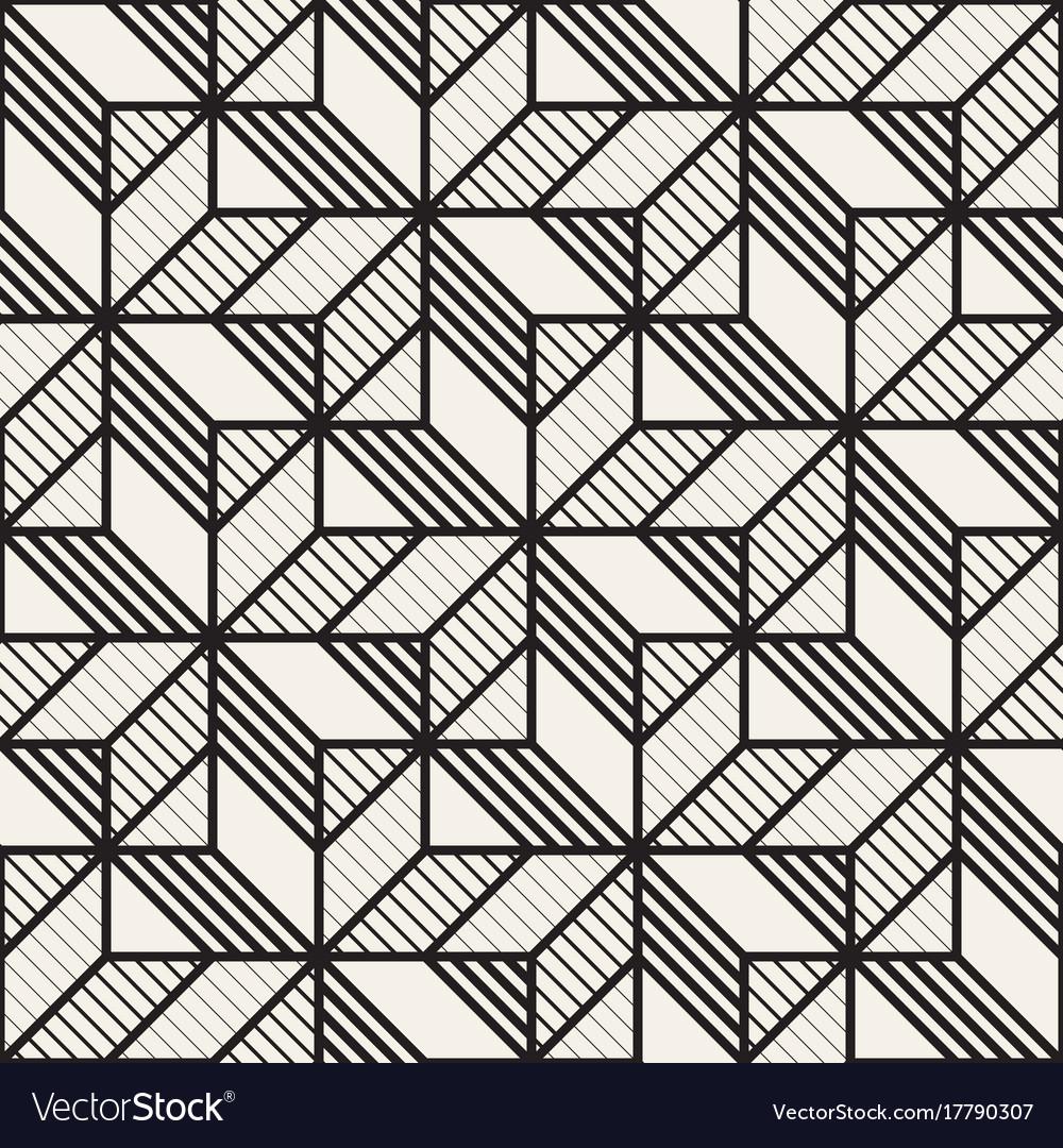 Seamless cross tiling pattern modern Royalty Free Vector