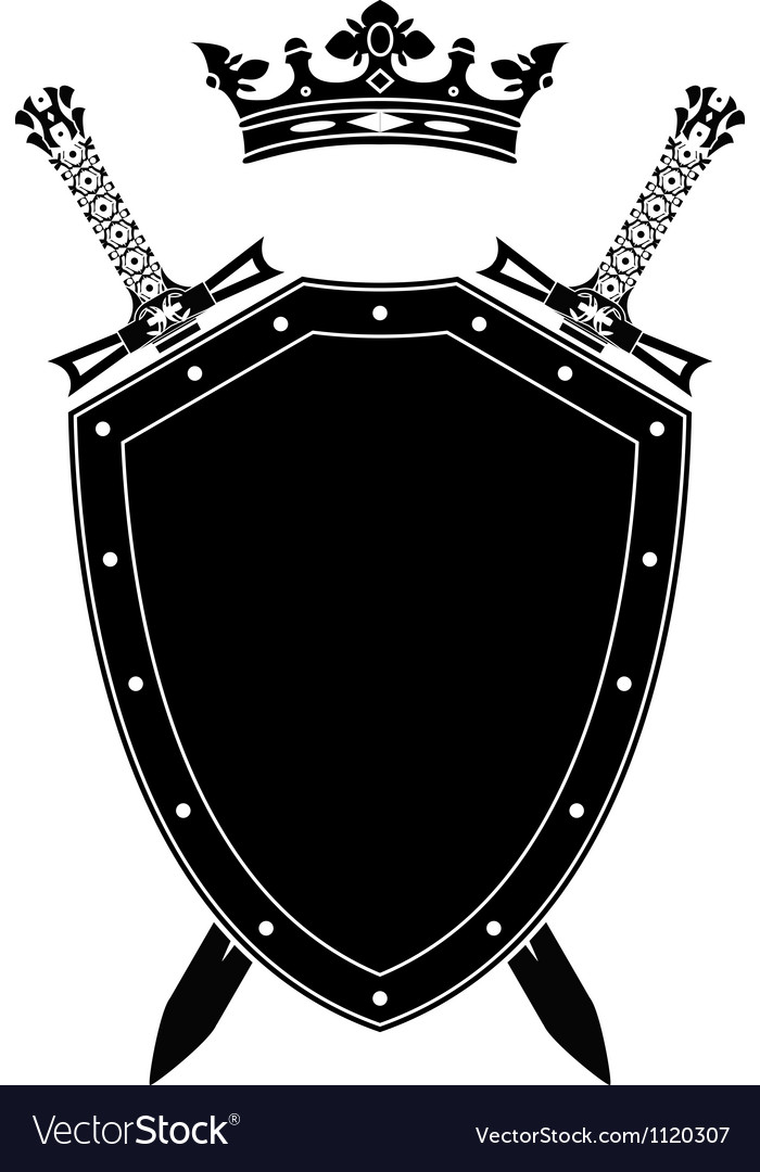 щит и меч картинка черно белая собак фото