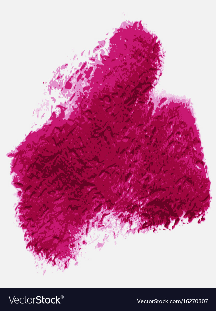 Textured Purple Pink Paint Over White Background Vector Image