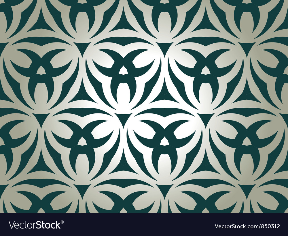 Floral tribal pattern