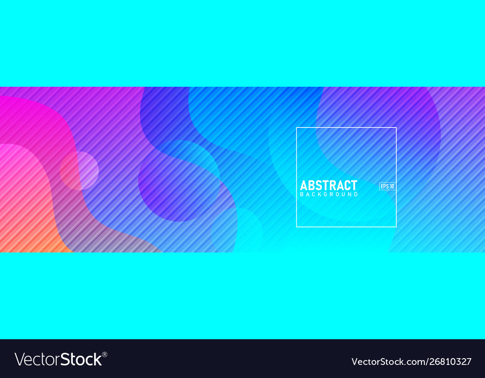 Colorful abstract geometric background fluid