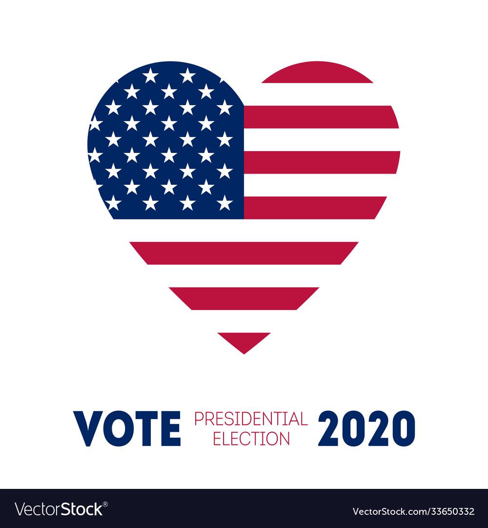 November 3 - presidential election 2020 in us
