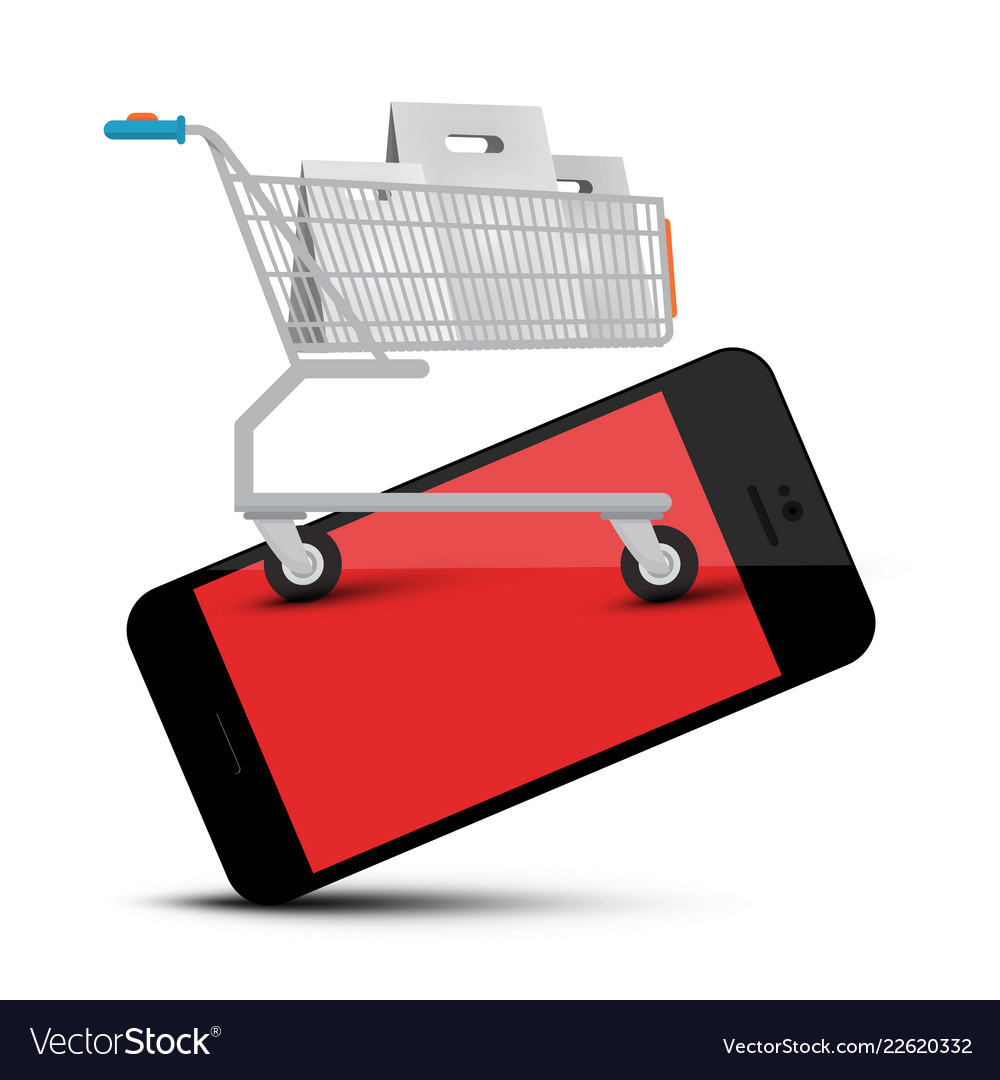Shopping cart on mobile phone web application