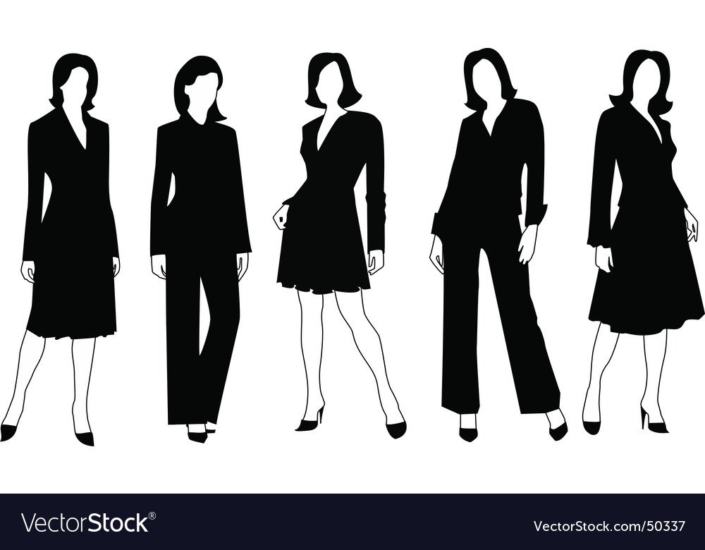 business woman royalty free vector image vectorstock rh vectorstock com vector woman 1962 vector woman face