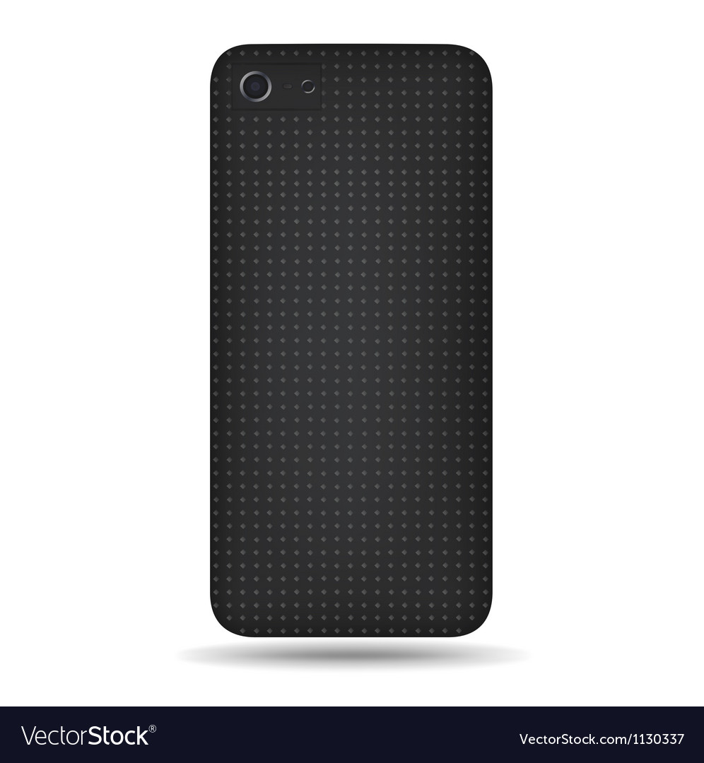 Carbon back vector image