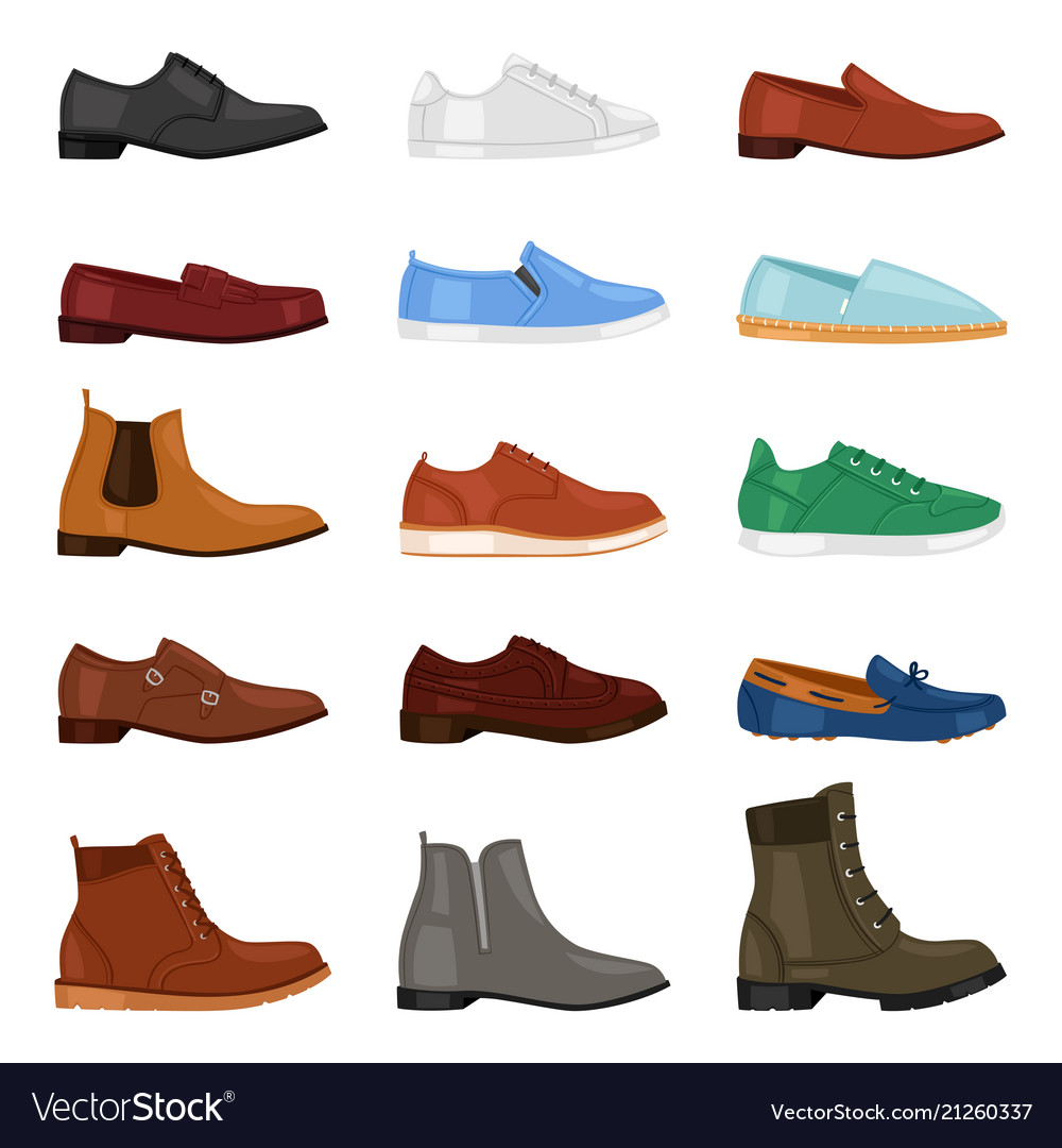 Man shoe fashion male boots and classic