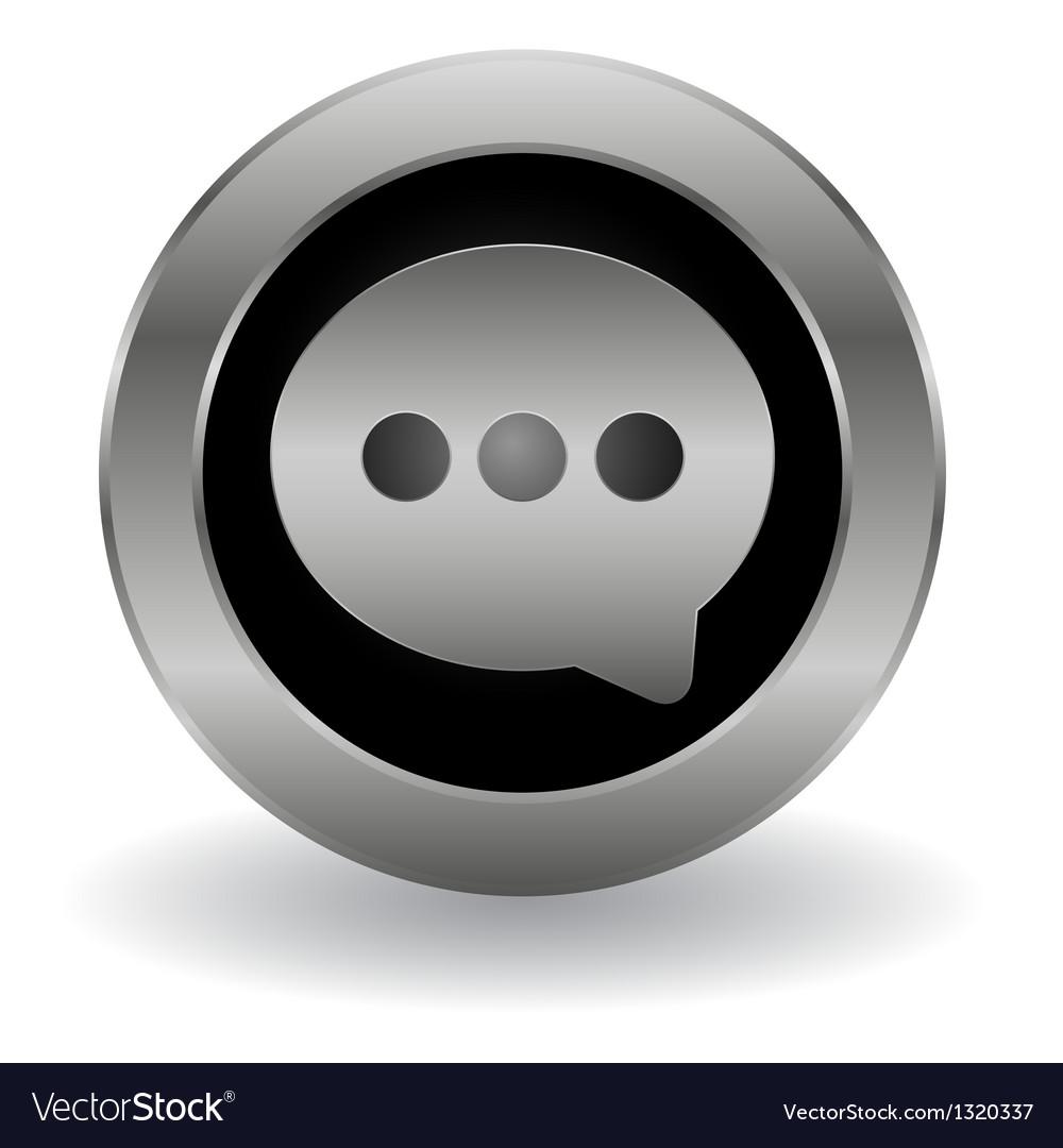 Metallic speech button