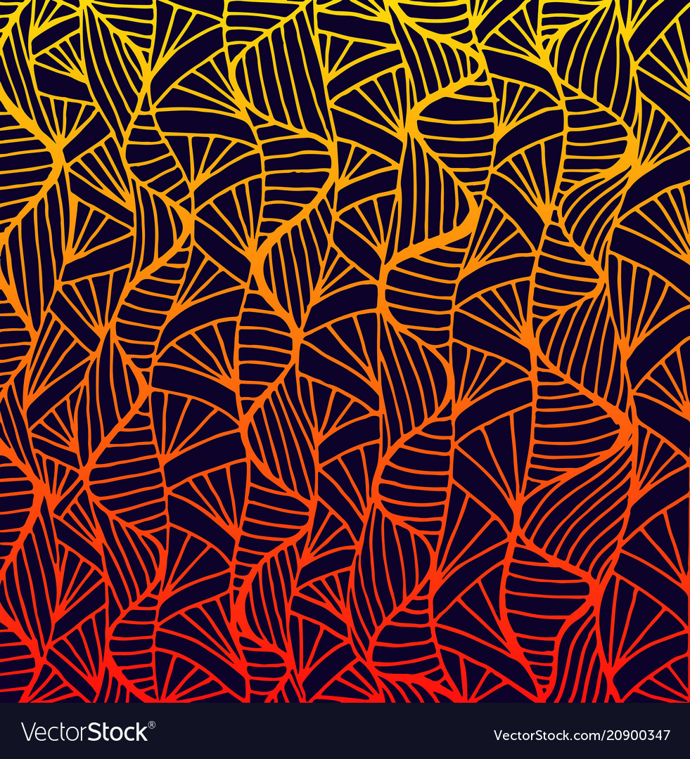 Abstract pattern ethno style stylish background vector image