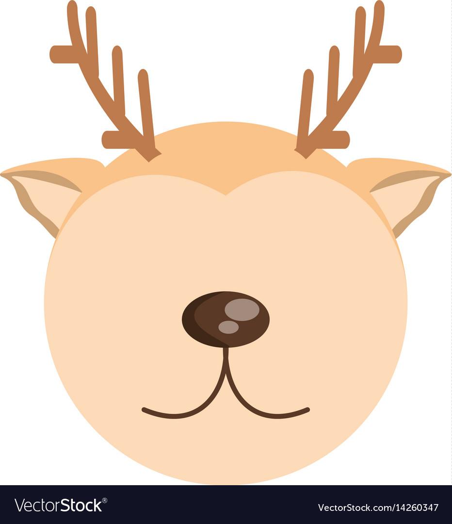 Head cute deer animal image