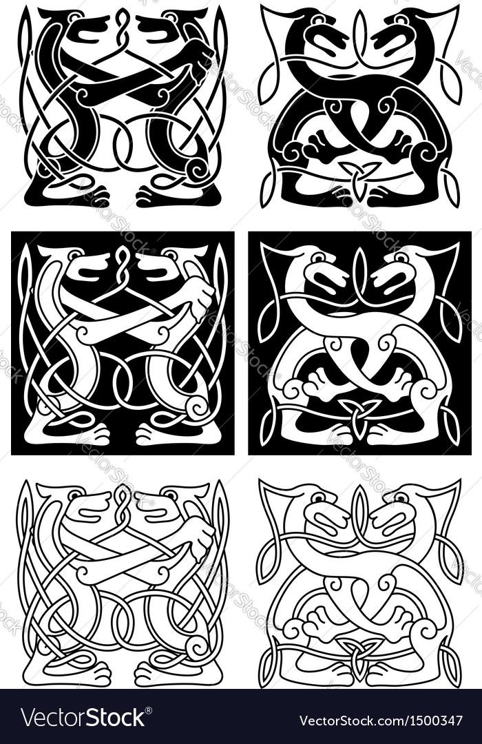 Tribal celtic ornament