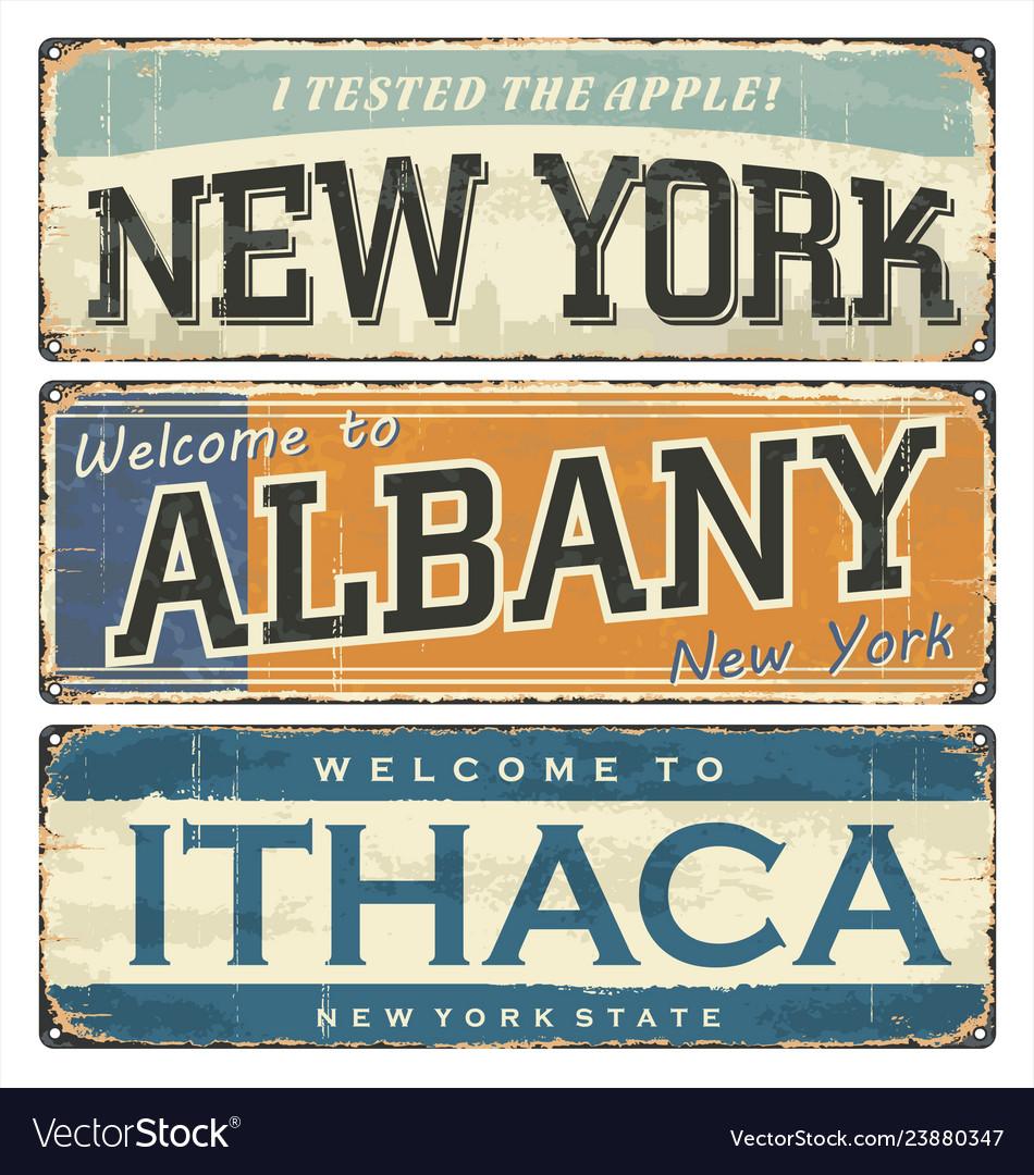 Us cities new york albany ithaca nyc