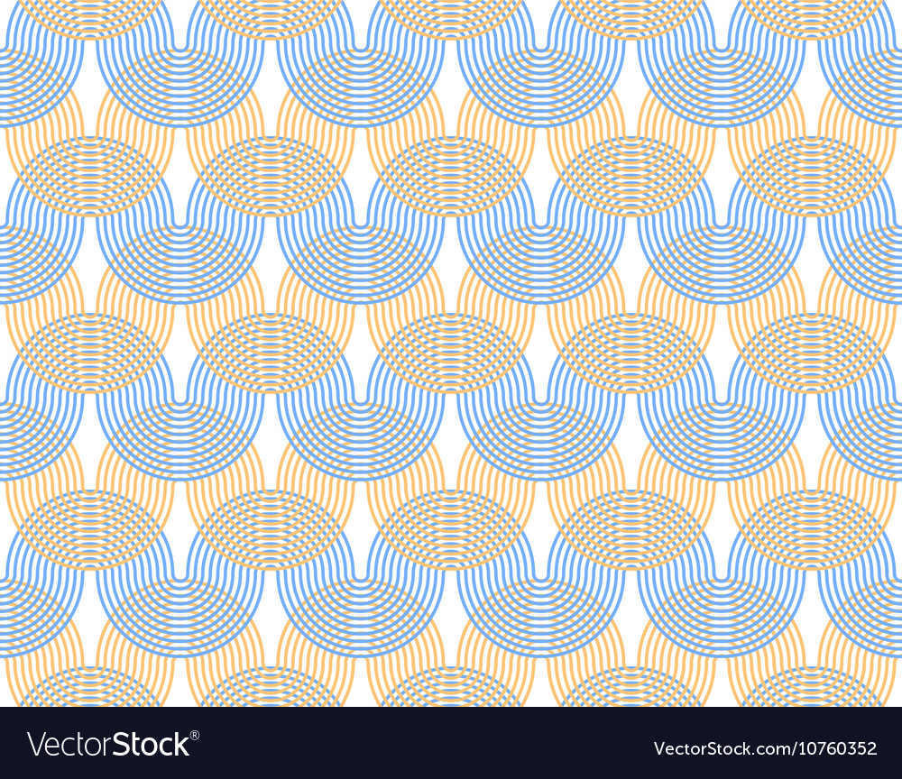 Abstract background Undulating curves are