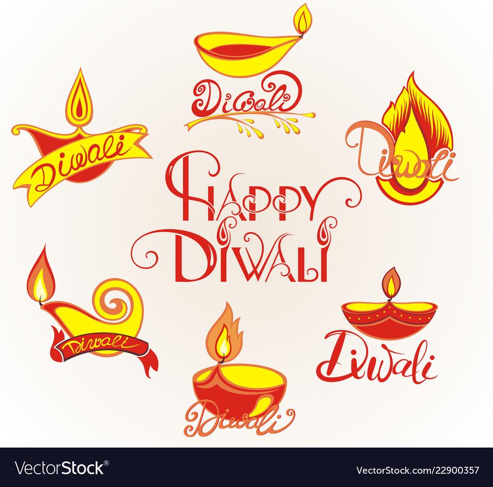 Diwali festival elements