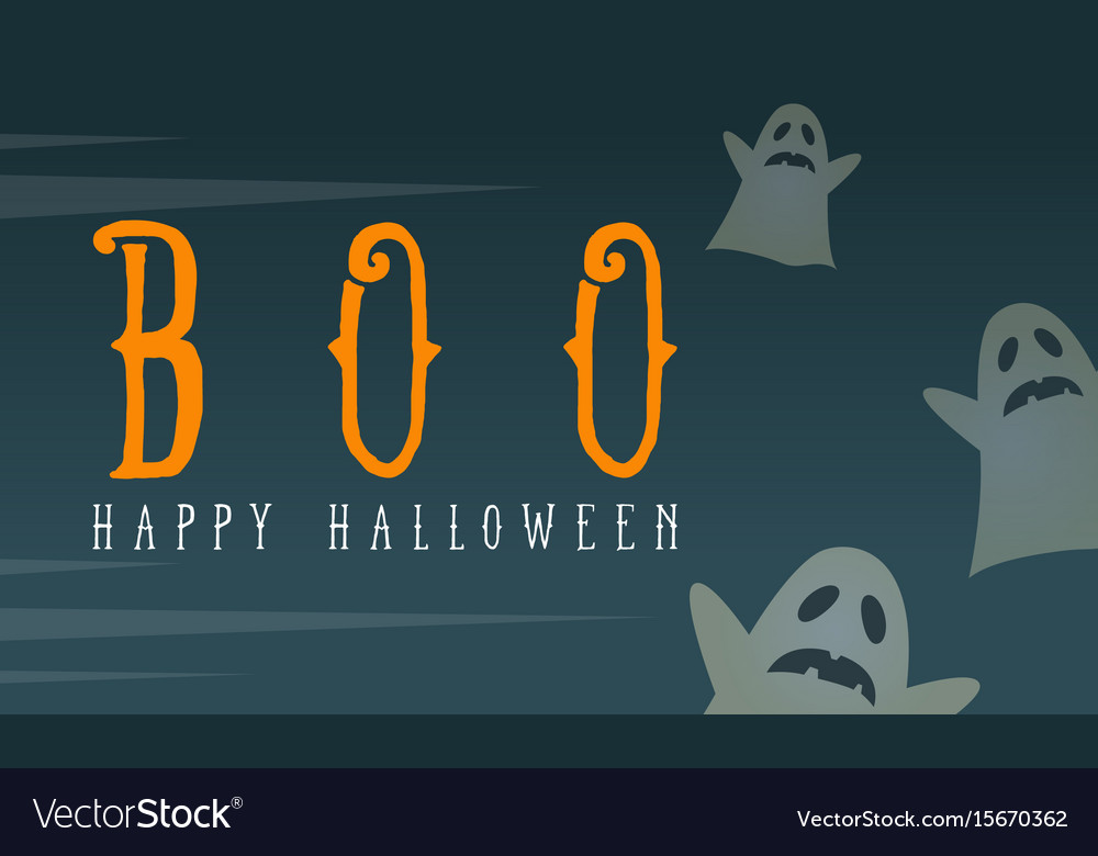 Background card halloween style collection vector image