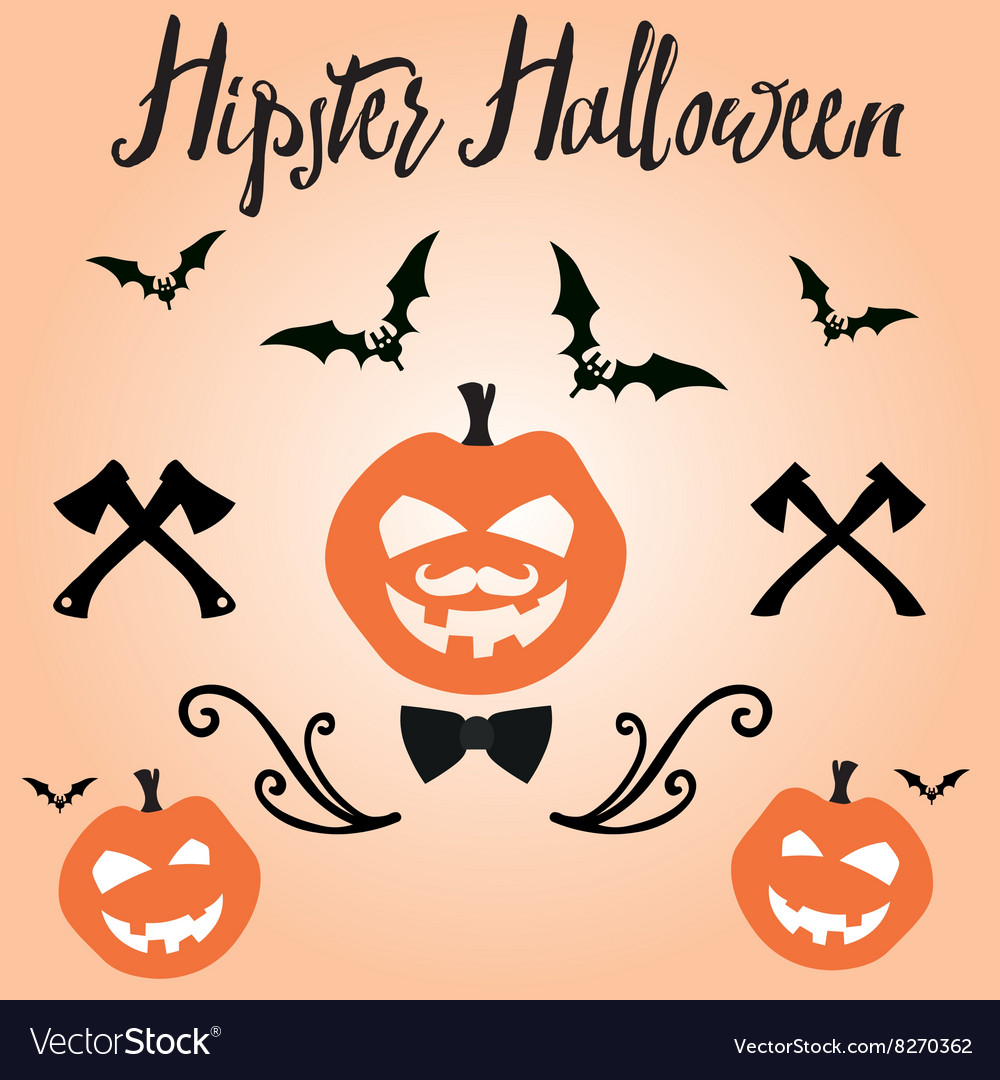 Happy Halloween in for invitation