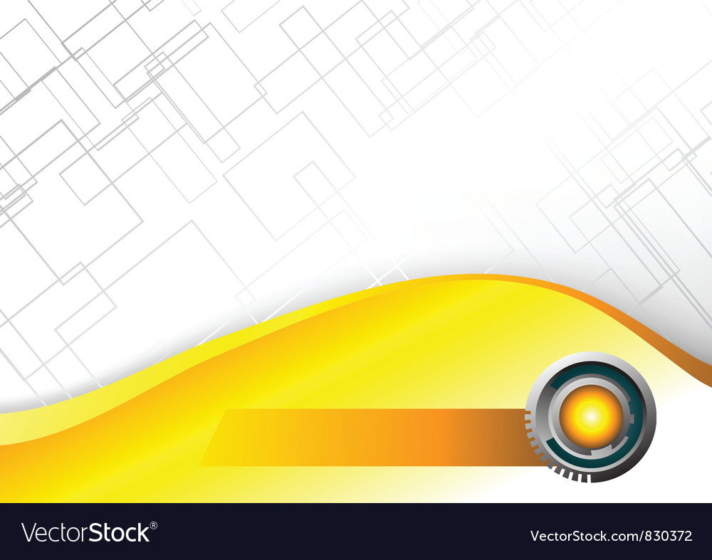 Abstract Hi tech yellow background