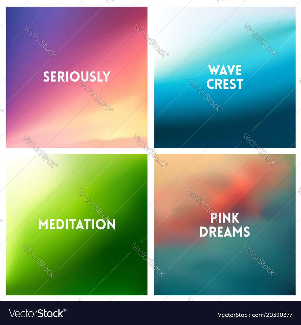 Abstract multicolored blurred background